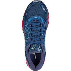 Mizuno Wave Prophecy 8 Sko Damer, blue wing teal/silver/honeysuckle